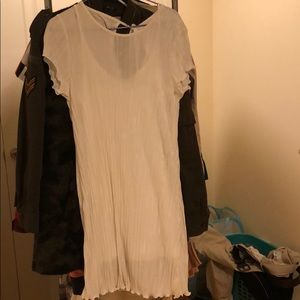 Urban outfitters white dress NWT